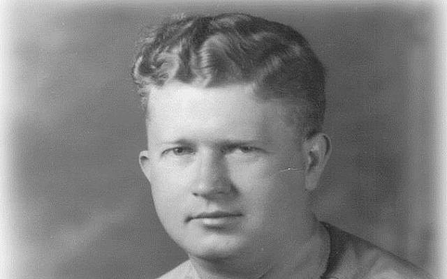This undated photograph released by the Yad Vashem Holocaust Memorial shows World War II US Army Master Sgt. Roddie Edmonds. (Courtesy of Yad Vashem via AP)