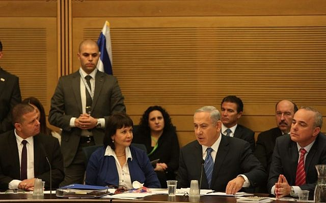 File: Prime Minister Benjamin Netanyahu defends the controversial gas deal  in the Knesset Economic Affairs