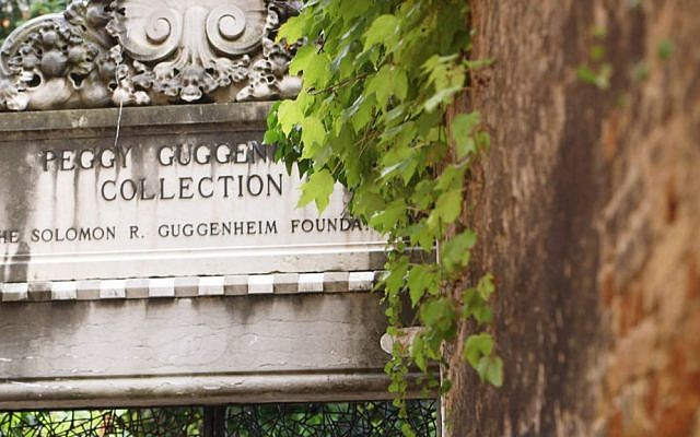 Entrance to the Peggy Guggenheim Collection in Venice, Italy. (Courtesy)