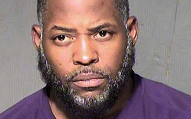 Law enforcement booking photo of Abdul Malik Abdul Kareem (Maricopa County Sheriff's Department via AP, File)