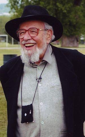 Jewish Renewal movement leader Rabbi Zalman Schachter-Shalomi, 2005. (IZAK/Wikipedia CC BY-SA 3.0)