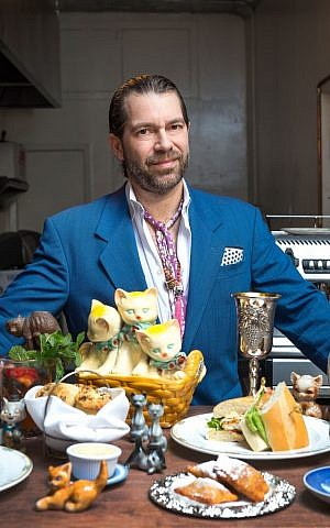 Richard Kimmel, the owner of Jewish-soul food venues Kitty's Canteen and Kitty's-a-Go-Go in Manhattan. (Courtesy of Richard Kimmel/JTA)