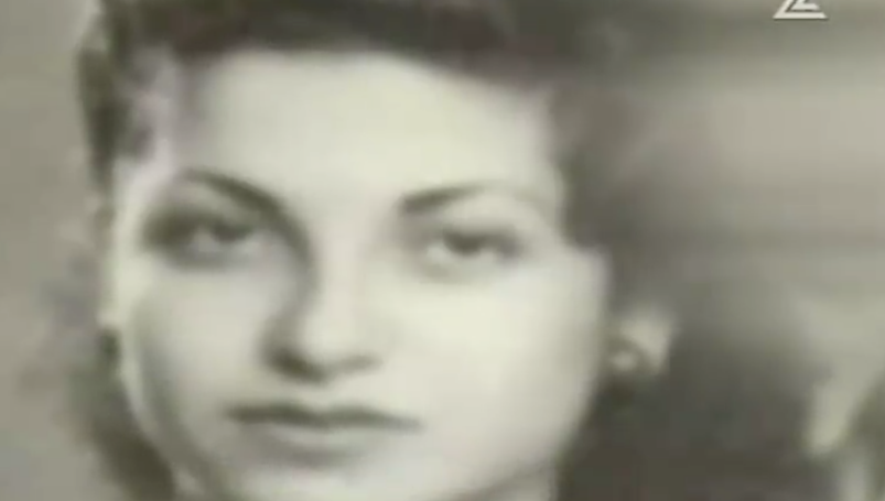 The young Rachel Elkayam (Channel 2 screenshot)