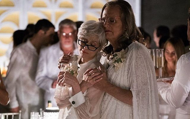 Jeffrey Tambor, right, with Judith Light in the second season of 'Transparent.' (Courtesy of Amazon Studios)