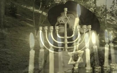 "Screenshot from 'SHALOM - Adele ""Hello"" Chanukah/Hanukkah Parody.' (YouTube)"