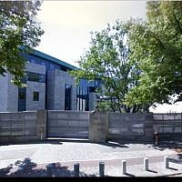 A view of the Israeli Embassy building in Berlin, Germany. (Screen capture Google Street View)