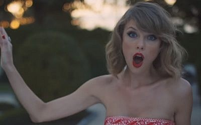 Taylor Swift (YouTube screen capture)