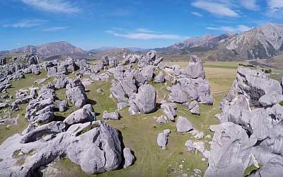 Arthur's Pass, New Zealand (YouTube screenshot)