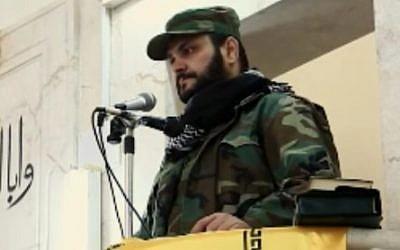 Sheikh Akram al-Kabi, leader of the al-Nujaba militia (MEMRI)
