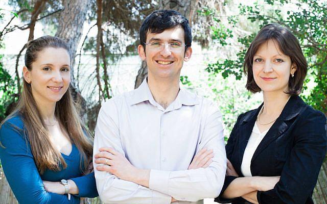 (L to R) LabSuit co-founders Helen Rabinovitz, Alex Domeshek and Ira Blekhman