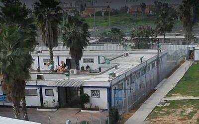 The Ma'asiyahu Prison complex in Ramle, near Tel Aviv. (Courtesy/Israel Prisons Service)