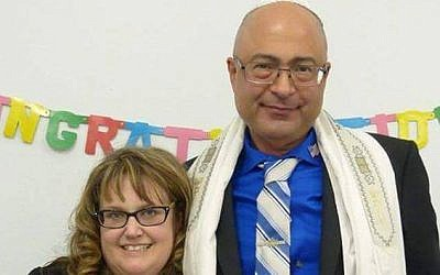 San Bernardino shooting victim Nicholas Thalasinos and his wife Jennifer (Facebook)