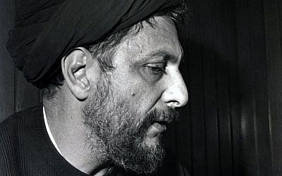 An image taken in Beirut in the mid-70s shows Lebanese Shiite Muslim religious leader Imam Moussa al-Sadr. (AFP)
