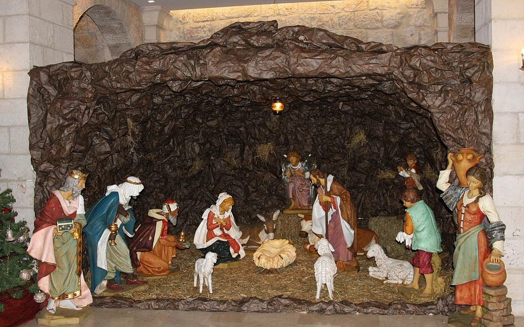 Nativity Scene at Notre Dame (Shmuel Bar-Am)
