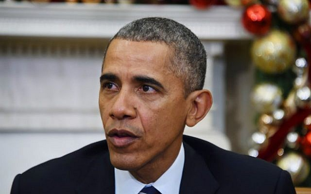 US President Barack Obama speaks on US gun violence at the White House in Washington, DC, on December 3, 2015. (AFP/Jim Watson)