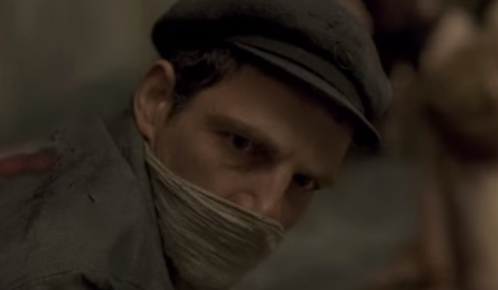 A scene from 'Son of Saul' (YouTube screen capture)