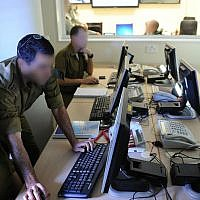 Roim Rachok helps people with autism integrate into the IDF and enables them to serve in key positions. (Courtesy of IDF)
