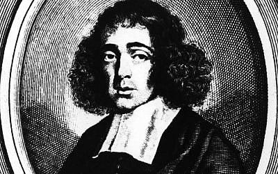 Dutch philosopher Baruch De Spinoza, circa 1660 (Hulton Archive/Getty Images/via JTA)