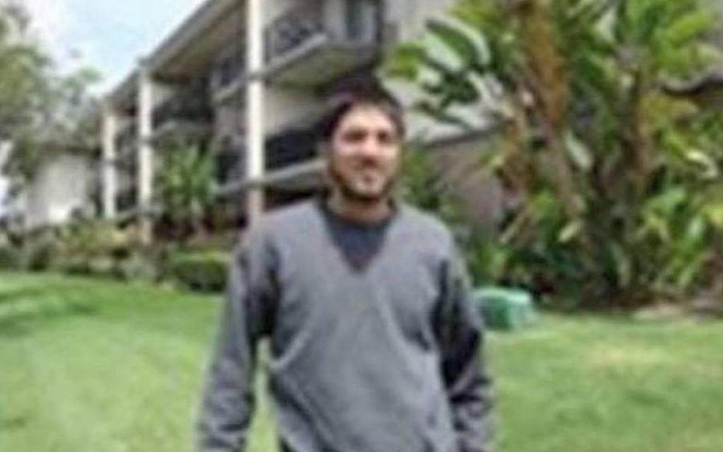 San Bernardino shooter Syed Rizwan Farook (YouTube screen cap)