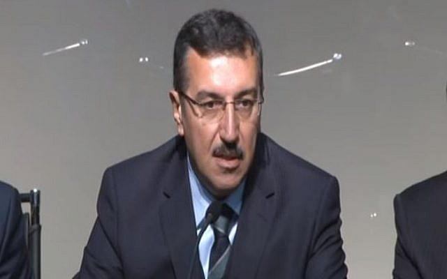 Turkish Customs and Trade Minister Bulent Tufenkci. (YouTube/tv malatya)