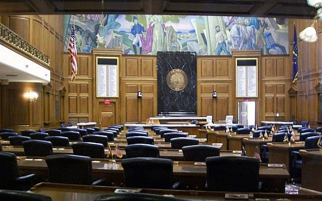 The Indiana House of Representatives. (CC BY SA 3.0 Charles Edward/Wikipedia)