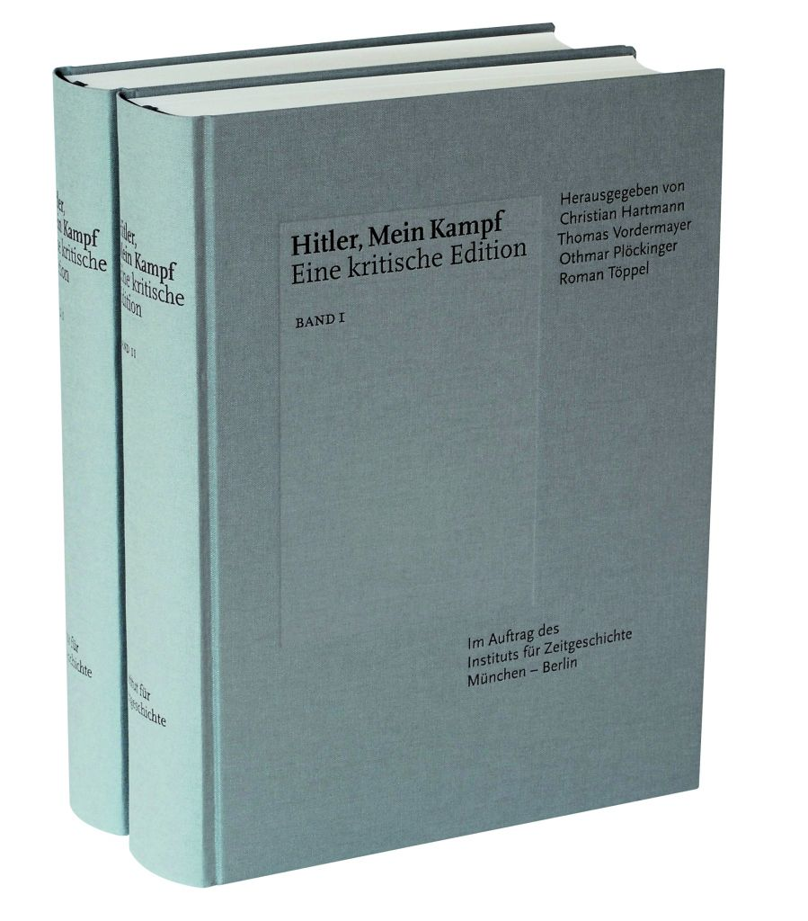 The Munich-based Institute for Contemporary History is re-publishing 'Mein Kampf' on January 8, 2015 in a heavily annotated two-volume edition. (courtesy)