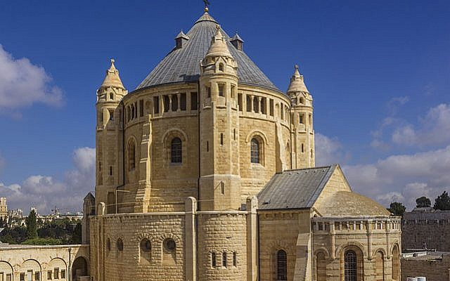 Dormition Abbey in Jerusalem. (Andrew Shiva/Wikipedia CC BY-SA 4.0)