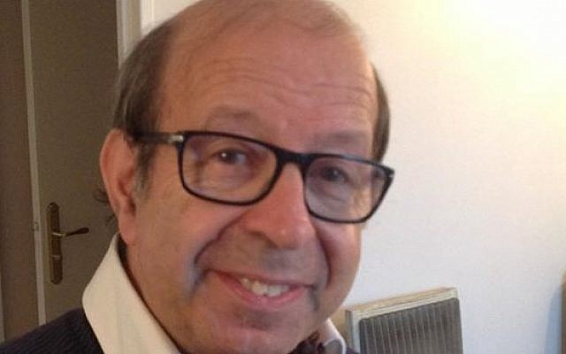 French Jewish local politician Alain Ghozland, 73, was found dead in his home on January 12, 2016 (Facebook)