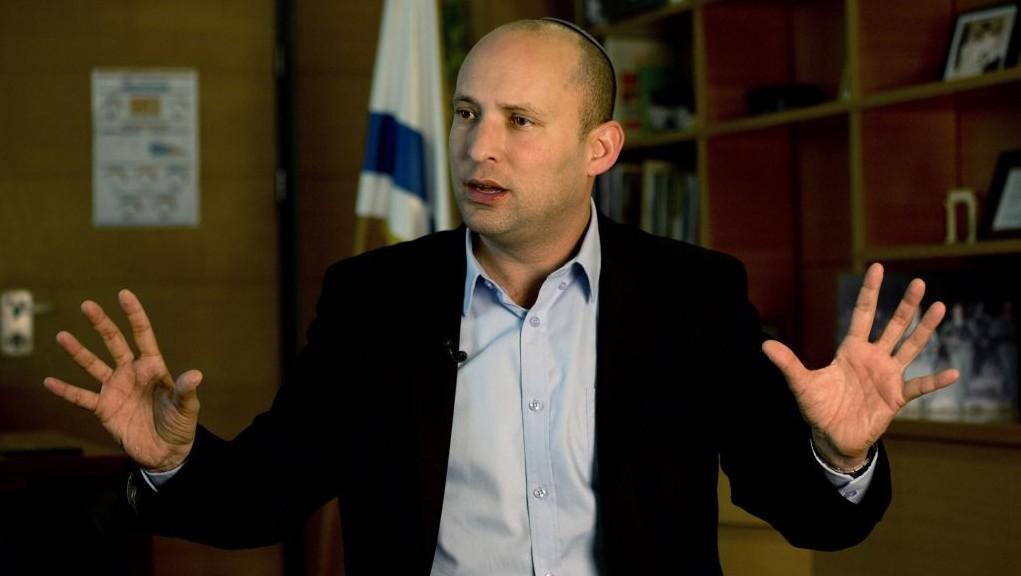 Education Minister Naftali Bennett, leader of the Jewish Home party (AP Photo/Tsafrir Abayov)