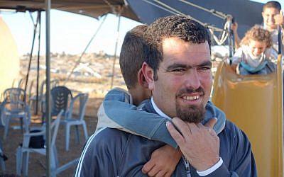 Undated photo of Palestinian activist Nasser Nawaj'ah (Leif Magne Helgesen, File)