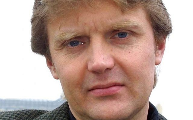 In this May 10, 2002, file photo former KGB spy Alexander Litvinenko is photographed at his home in London. (AP Photo/Alistair Fuller)