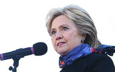 Democratic presidential candidate Hillary Clinton speaks during the King Day at the Dome event celebrating the life of Martin Luther King Jr., Monday, Jan. 18, 2016, in Columbia, South Carolina. (AP Photo/Rainier Ehrhardt)