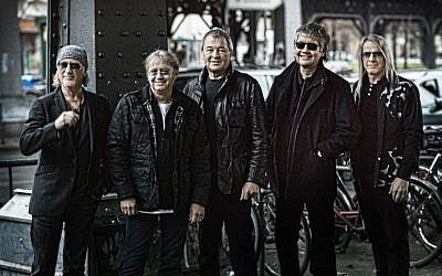 The five members of Deep Purple will perform again in Israel, for their sixth time (Courtesy Jim Rakete)