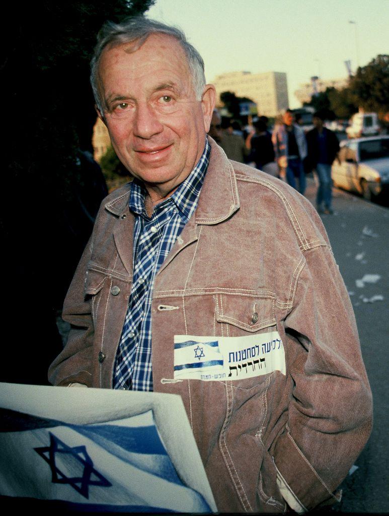 Yehuda Amichai (Moshe Shai/Flash90)