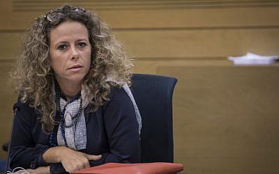Member of Knesset Ayelet Nahmias-Verbin(Hadas Parush/Flash90)