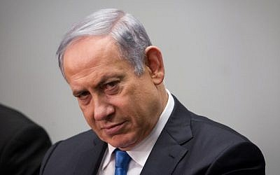 Prime Minister Benjamin Netanyahu on January 26, 2016 (Miriam Alster/FLASH90)