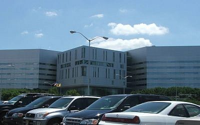 The Richard J. Hughes Justice Complex, the seat of the New Jersey Supreme Court and the central administrative offices of all statewide courts in New Jersey. (Public domain, Wikimedia Commons)