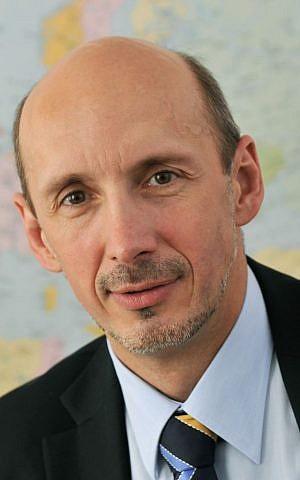 Peter Hulényi, the Slovak ambassador to Israel (courtesy)