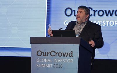 Jon Medved at the OurCrowd Summit (Courtesy)