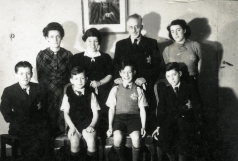 The Roet family, pre-World War II. (courtesy)