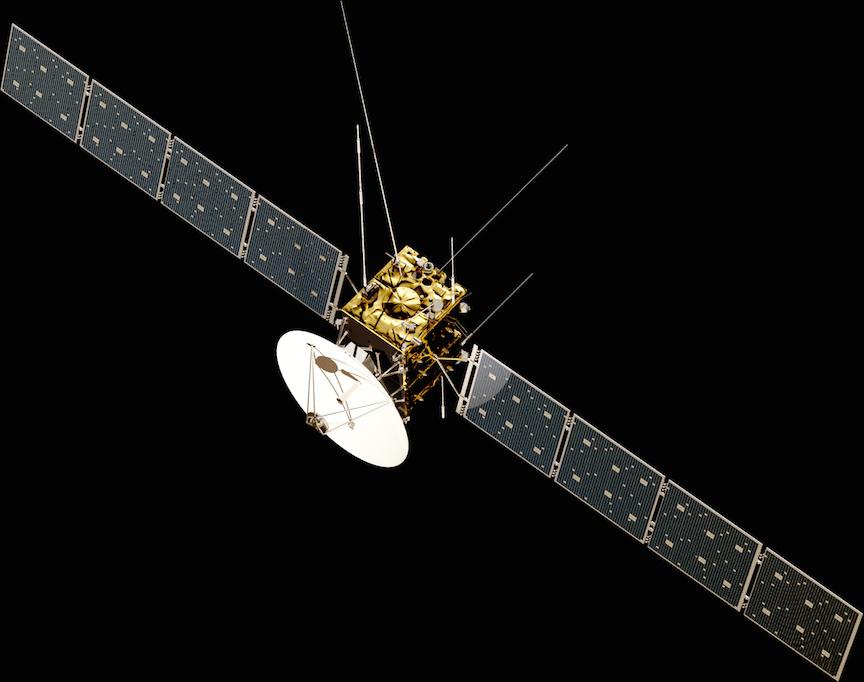 Illustration of the JUICE spacecraft (ESA)