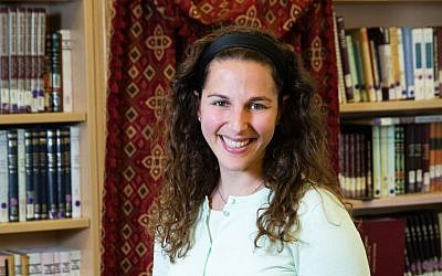 Lila Kagedan is the first graduate of Yeshivat Maharat to use the title rabbi. (Courtesy of Lila Kagedan)