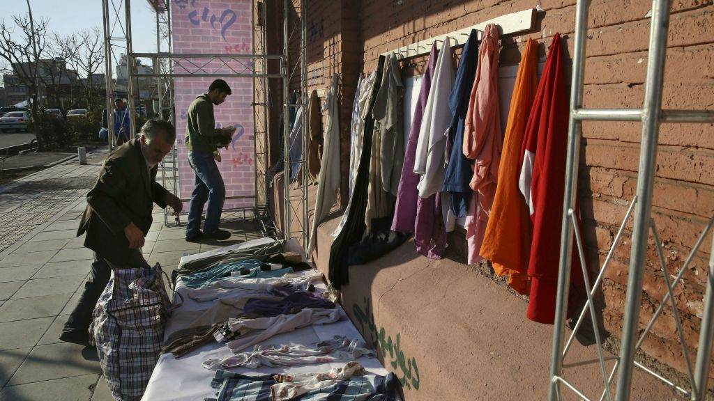 Iran S Needy Get Winter Clothes From