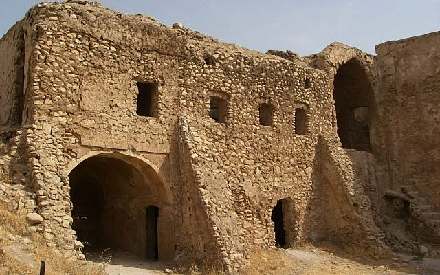 St. Elijah's Monastery on the outskirts of Mosul, Iraq, October 1, 2006. (Col. Juanita Chang/U.S. Army via AP)