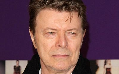 David Bowie attends the 2010 CFDA Fashion Awards in New York, June 7, 2010. (AP Photo/Peter Kramer, File)