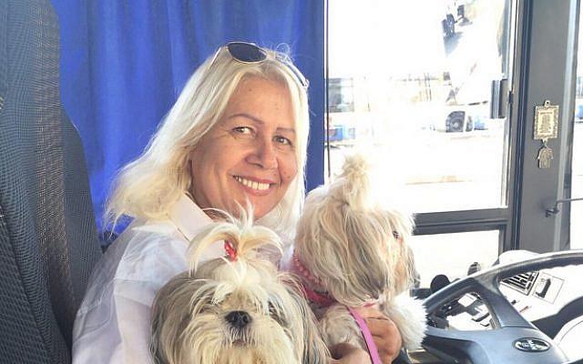 Israeli bus driver Ms Ruty Tehrani