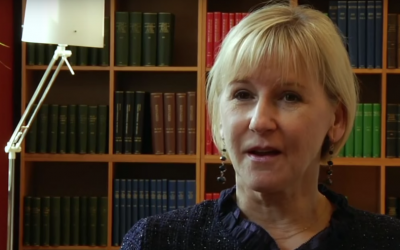 Swedish Foreign Minister Margot Wallstrom (Youtube screenshot)