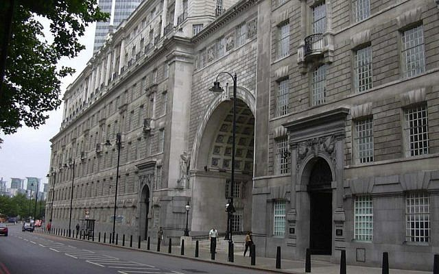 Thames House in London, the headquarters of the MI5 domestic intelligence agency. (Wikipedia/Cnbrb/CC BY-SA 3.0)