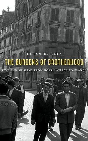 Cover of 'The Burdens of Brotherhood' by Ethan B. Katz (Harvard University Press)