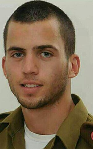Staff Sgt. Oron Shaul died in Gaza when his armored personnel carrier was struck by an anti-tank missile on July 20, 2014. (Courtesy)